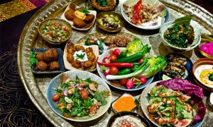 Arabic Food Spread
