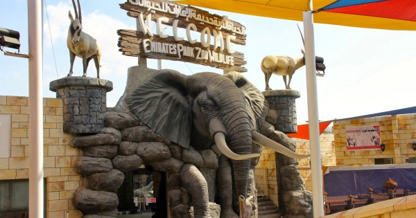 Timings and Directions to reach Emirates Park Zoo in Abu Dhabi