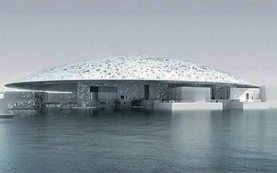 Louvre Museum is a Universal Museum Construction in Abu Dhabi