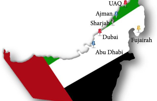 United Arab Emirates a federation of Seven Emirates
