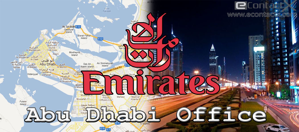 Emirates Airlines Office Address and Timing in Abu Dhabi