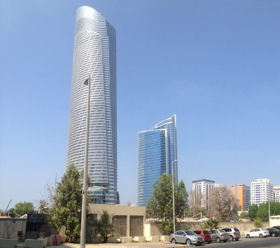 The Land Mark Skyscraper in Abu Dhabi
