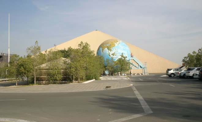 The Emirates National Auto Museum in Abu Dhabi