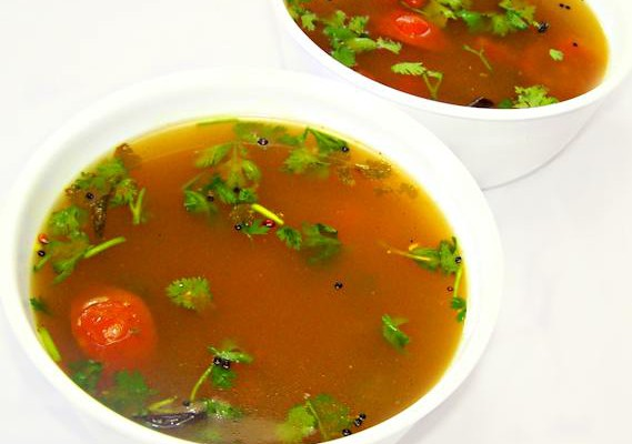 Rasam a South Indian dish