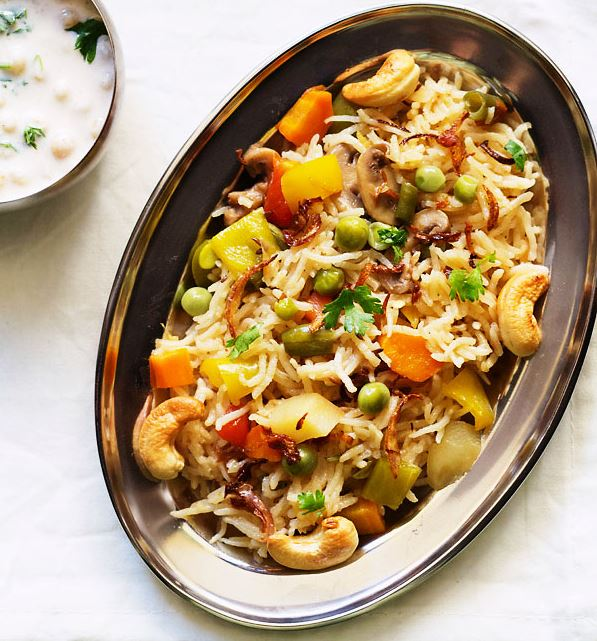 Vegetable Pulao An Indian Recipe