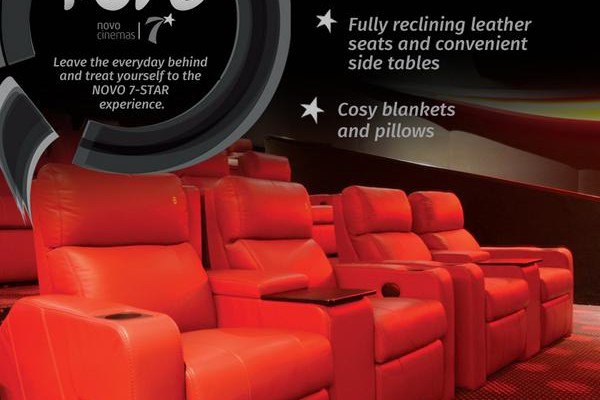 Movies and Show timings of Novo Cinemas at WTC Mall Abu Dhabi