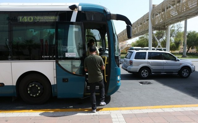Hafilat card system in Abu Dhabi Buses by May 15