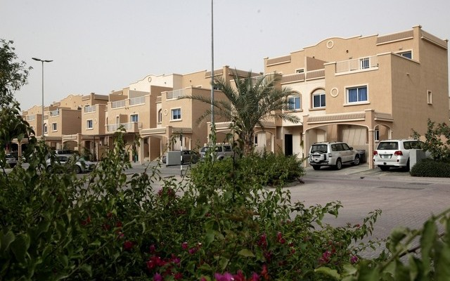Residents in Al Reef Villas, Abu Dhabi, say increasing rental costs are going to hit them hard. Many have no choice but to pay the rents demanded. Christopher Pike / The National