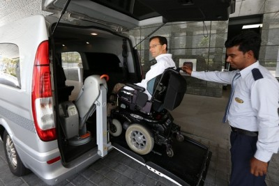 Abu Dhabi's new fleet of wheelchair-friendly taxis not yet fit for purpose