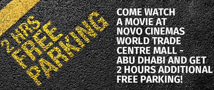 Movies and Show timings of Vox Cinemas in Abu Dhabi Mall