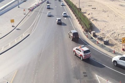 Abu Dhabi road improvement projects completed