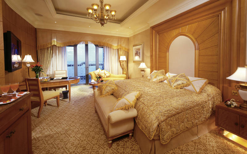 Emirates Palace Hotel a seven star luxury hotel in Abu Dhabi