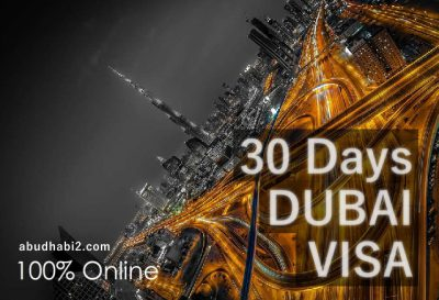 30 Days Dubai Tourist Visa