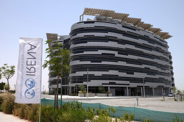 The Irena headquarters in Abu Dhabi opens tonight, almost six years since the site on the edge of the Masdar City campus was chosen for 'the greenest office building in the UAE