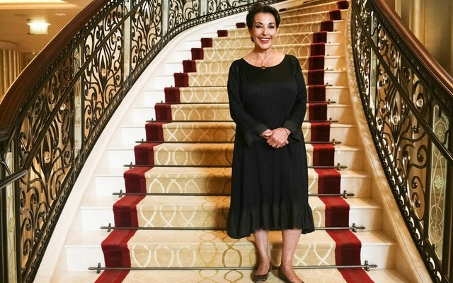 Beirut Institute founder Raghida Dergham is in town to set up the BI's first conference in Abu Dhabi in October