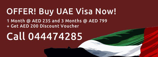 UAE Visa - 30 Days and 90 Days - Offer