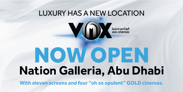 Movies and Showtimings in Vox Cinemas Nation Galleria Tower Abu Dhabi