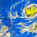 PAGASA spotted the eye of the typhoon at 1,420 km east of Calayan, Cagayan.