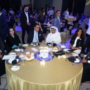 Sami Mahmoud, head of the Egyptian Tourism Authority, Ahmed Ali, director of the Egyptian Tourist Office in Abu Dhabi and other officials at the announcement.