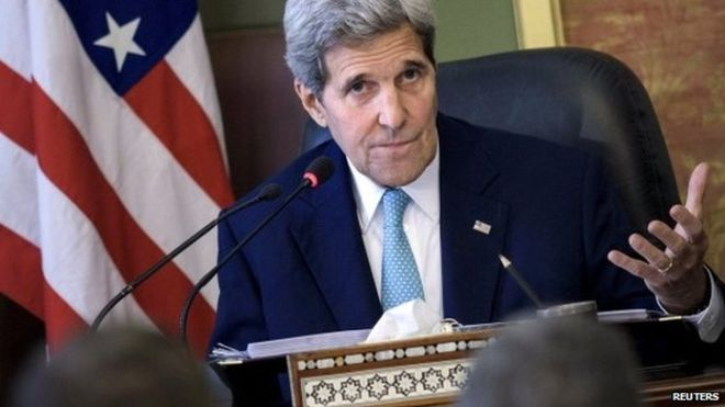 Mr Kerry spoke of political inclusiveness during his trip to Cairo but analysts say little has changed