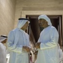 Sheikh Mohammed Bin Zayed (R) expressed his belief in the pivotal role that Saudi Arabia plays
