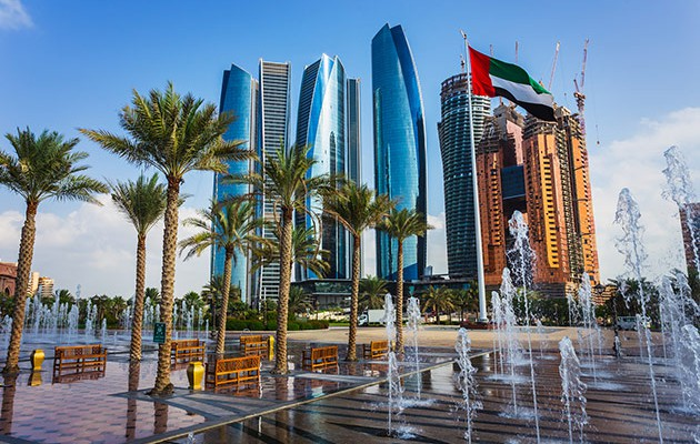 The exceptional strength of Abu Dhabi's net assets will counter any fall in oil price