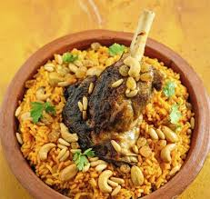 Kabsa  is a rice dishes that are served mostly in Saudi Arabia