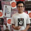 Gaurav Basavarth, 16, is the founder of the Are You The One Among Five? campaign
