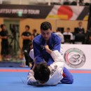 Action during the inaugural Abu Dhabi Jiu-Jitsu Grand Slam in Tokyo, a two-day event which concluded on Sunday.