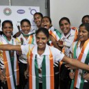 India become the 10th women's team to qualify for the Rio Games after South Korea, Argentina, Great Britain, China, Germany, Netherlands, Australia, New Zealand and the USA.