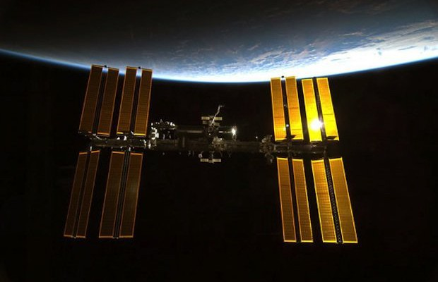 A Man was able to call the international space station and talk to astronauts from his backyard
