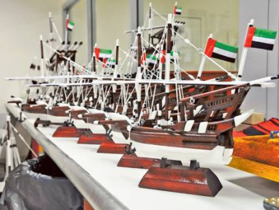Crafts made by Dubai inmates sold online