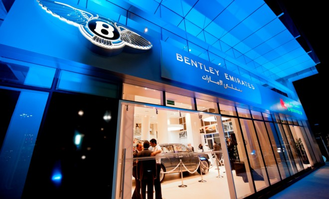 Bentley car Showroom in Abu Dhabi