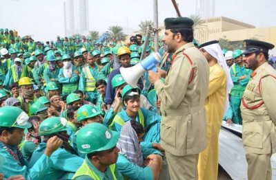 Dubai Police intervenes to find a home for 120 evicted workers