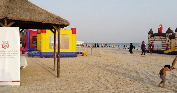 Eid Al Adha on Abu Dhabi Beaches