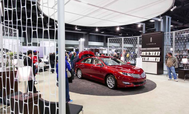 Lincoln car Showroom in Abu Dhabi