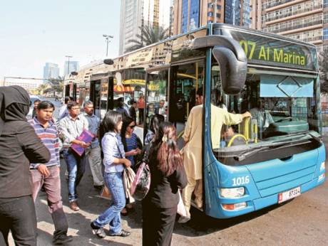 Abudhabi bus coin boxes to be removed from October 11