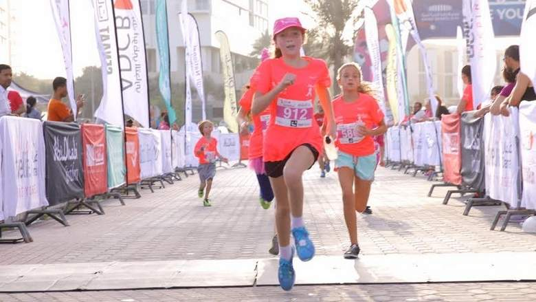 Abu Dhabi Cancer Research fund raising Pink run