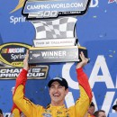 Logano Wins With Controversial Finish at Talladega