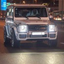 Shaikh Mohammed Drives Around Egypt President Sisi