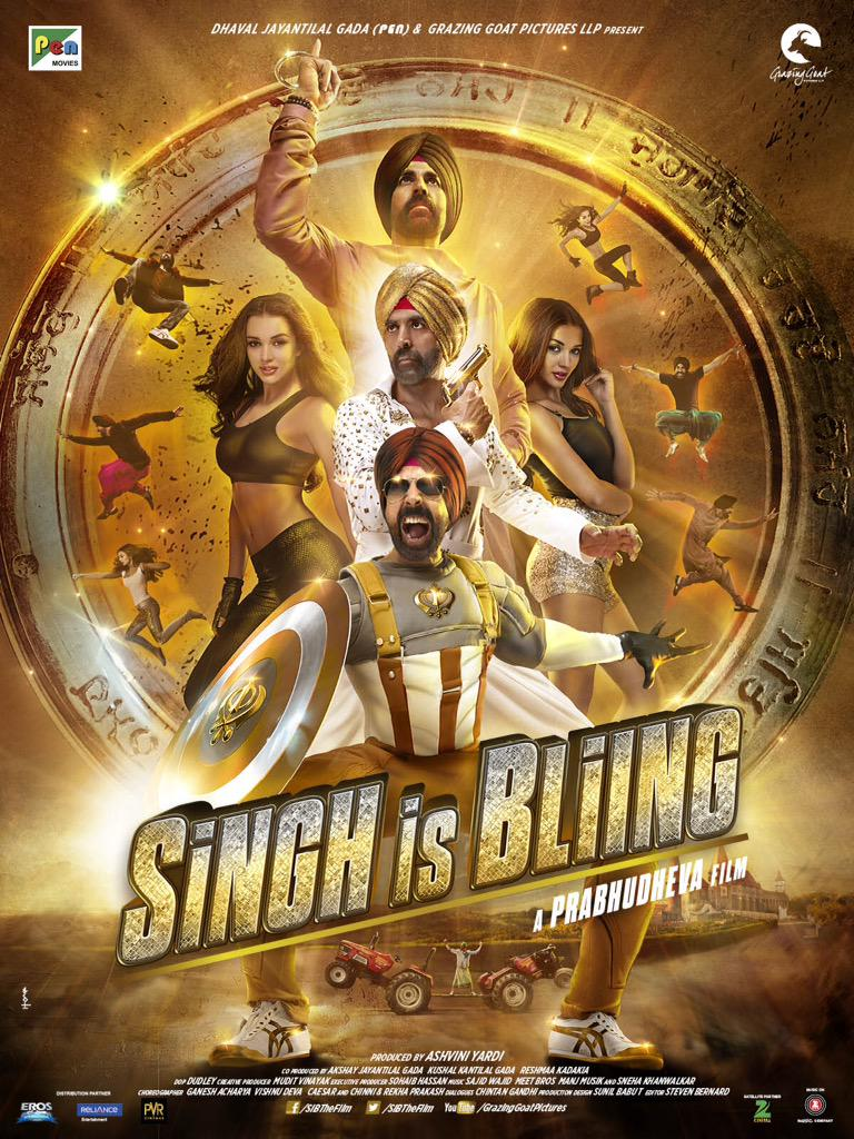 singh is bling film