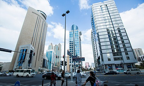Al Markaziyah is the busiest commercial streets in Abu Dhabi