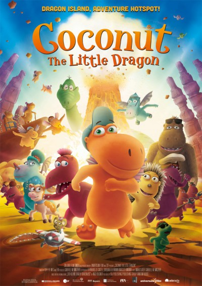 Coconut: The Little Dragon - English Movie - in Abu Dhabi