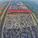 Tired of Traffic in UAE? Check out this traffic jam in China!
