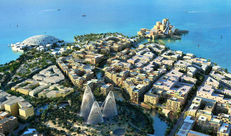 Saadiyat Islandand developed by the (TDIC),in Abu Dhabi