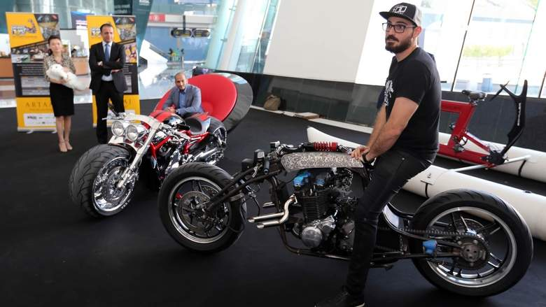 Toys For Big Boys : The biggest and baddest big boys toys come to abu dhabi