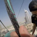 Zipping Along Downtown Dubai