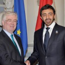 UAE Leaders Meet Irish Foreign Minister Over Trade Ties