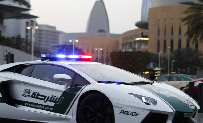 These Are The Amazing Supercars The Dubai Police Drive Around In