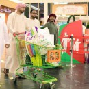 The People from Saudi Shopping, during the Dubai Shopping Festival 2016.